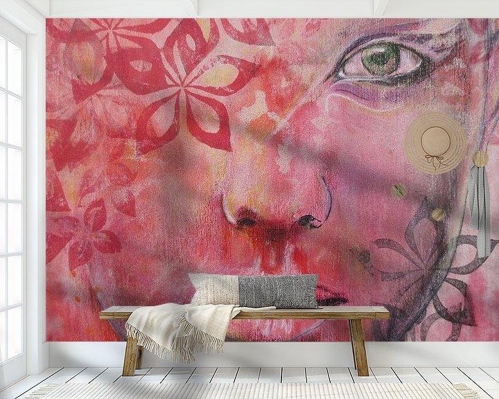Sfeerimpressie behang: Zoeken van de ziel van Helma van der Zwan
