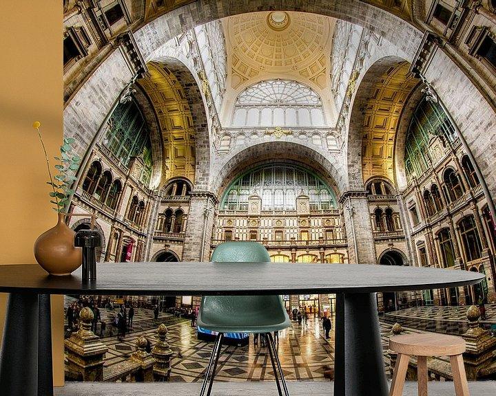 Beispiel fototapete: Centraal Station Antwerpen von Erik Bertels