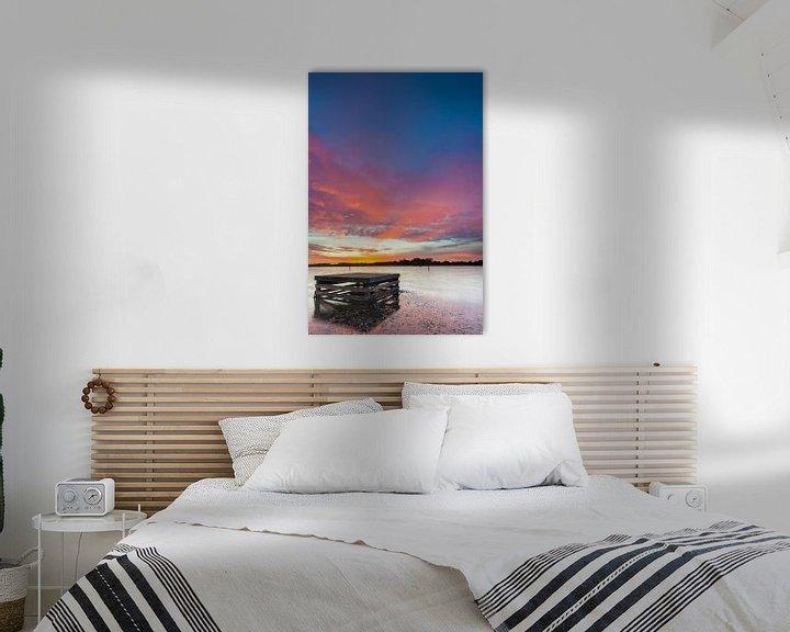 Sfeerimpressie: Hoornse Plas bij zonsopkomst van Ron Buist