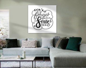 Don't forget to smile - wit van Annemieke Nijenhuis