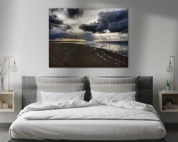 Stormachtig Texel van Danielle Bosschaart