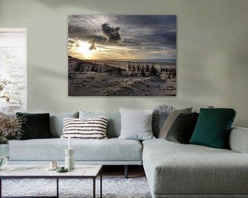 Texel Strand van Danielle Bosschaart