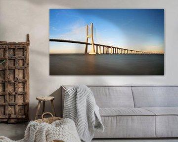 Ponte Vasco da Gama von Dennis van de Water