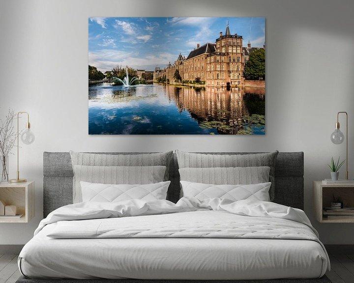 Sfeerimpressie: Binnenhof Den Haag van Brian Morgan