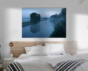 De Zuidwal van Den Bosch in ochtendgloren