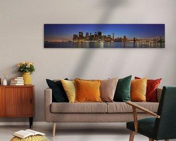 Lower Manhattan van Harro Jansz