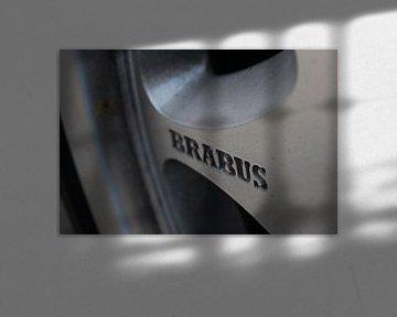 detail foto van een brabus  van Sam Vreeburg