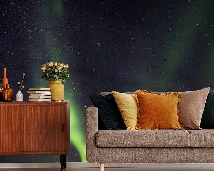 Sfeerimpressie behang: Het Noorderlicht van Tom Opdebeeck
