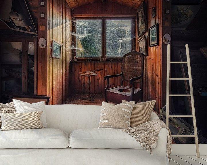 Beispiel fototapete: Een verlaten boerderij met een overvolle zolder von Steven Dijkshoorn