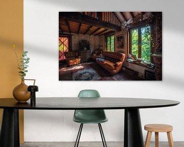 Urbex farm 1881  | Oude verlaten huiskamer