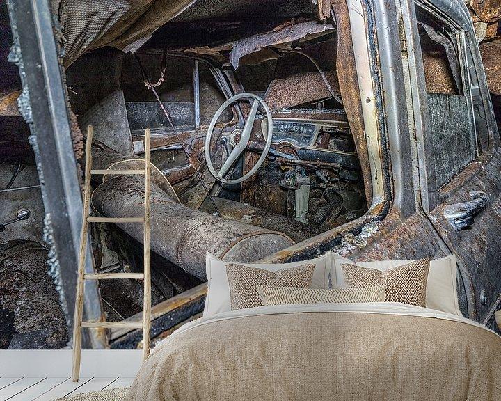 Beispiel fototapete: Oude auto's  von Henk Smit
