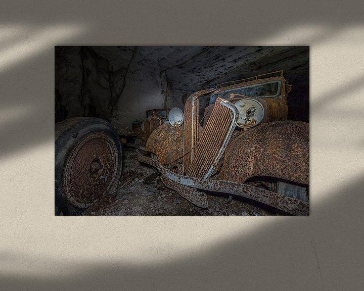 Beispiel: Oude auto's ( urbexlocatie ) von Henk Smit