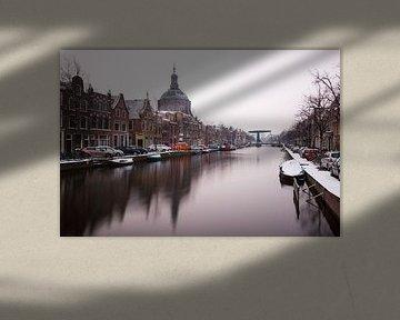 Oude Vest, Mare Kerk, Oude Singel Leiden