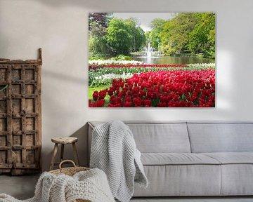 Keukenhof bloemen von Veli Aydin