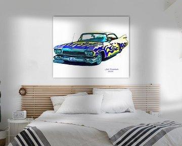 Cadillac, Blaue und gelbe 1959