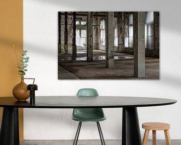 verlaten fabriek, urbex van Ada van der Lugt