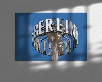 Berlijn reclame en typografie van Sander van Leusden
