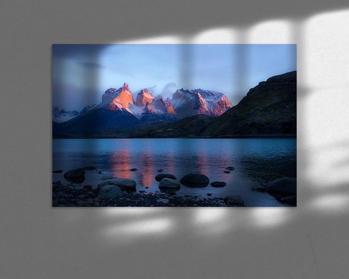 Sfeerimpressie: Cuernos del Paine van Claudia van Zanten