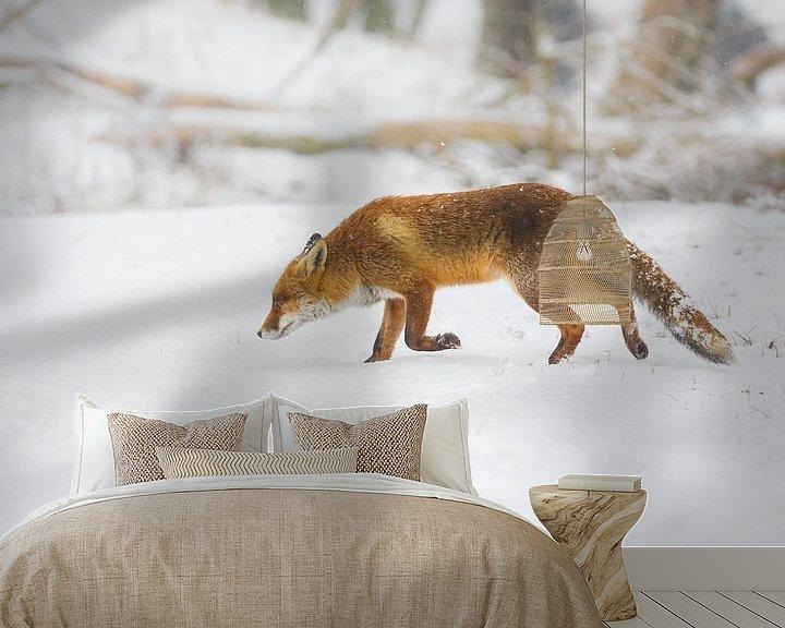 Sfeerimpressie behang: Winter van Pim Leijen
