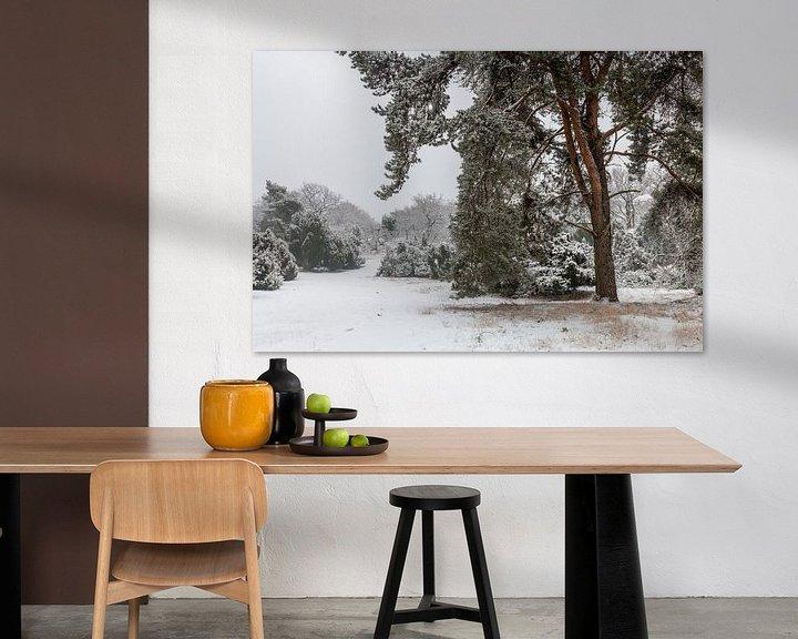 Sfeerimpressie: Winter Pine Tree van William Mevissen
