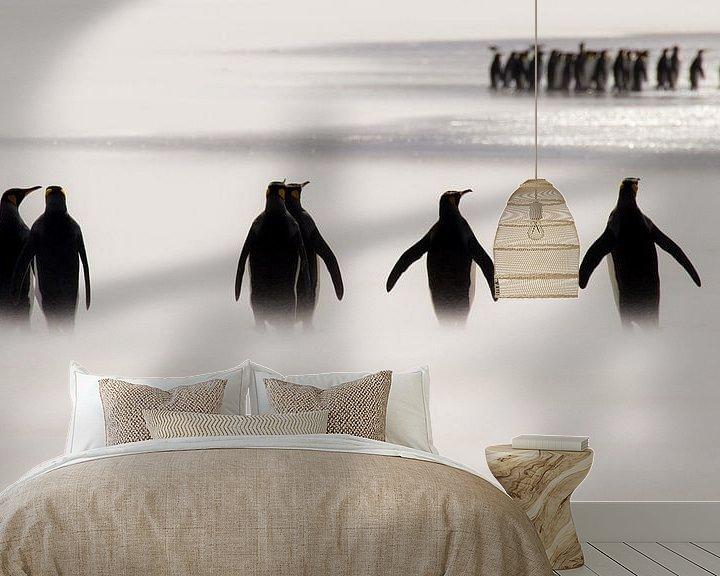 Sfeerimpressie behang: Ze zijn ook altijd te laat.... van Claudia van Zanten