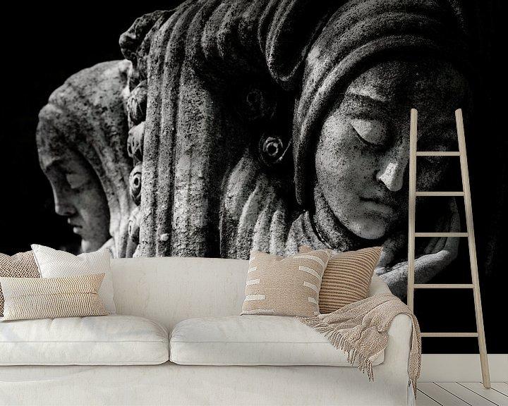 Sfeerimpressie behang: 2 van Karen Havenaar