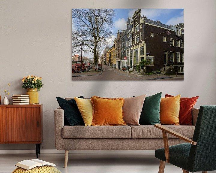 Sfeerimpressie: Brouwersgracht Amsterdam van Foto Amsterdam/ Peter Bartelings