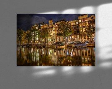 amsterdam by night van Menno Janzen