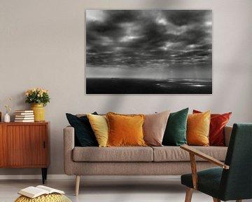 Achill Island, Ierland (zwart-wit)