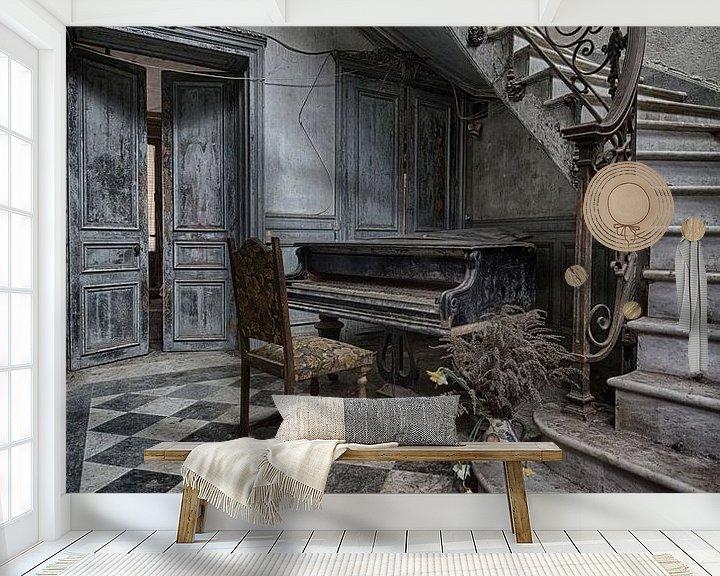 Beispiel fototapete: Altes Klavier von IDM Photography