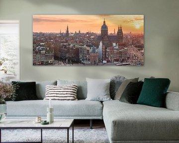 Amsterdam van Photo Wall Decoration
