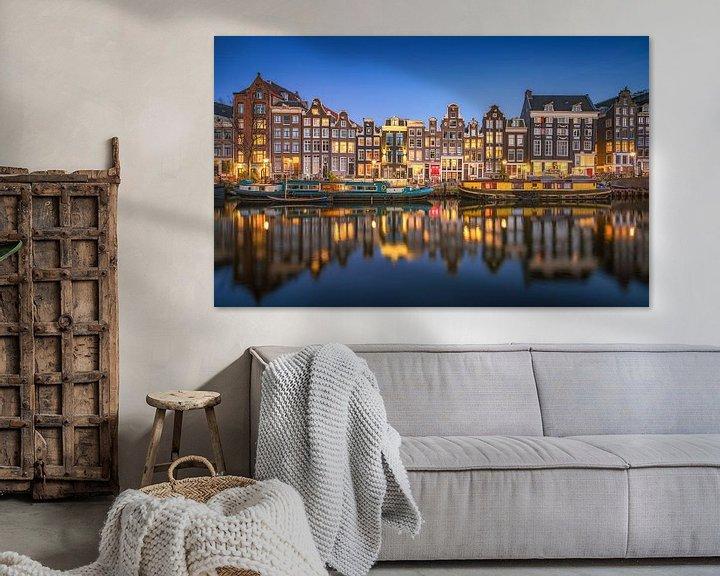 Beispiel: Amsterdam von Photo Wall Decoration