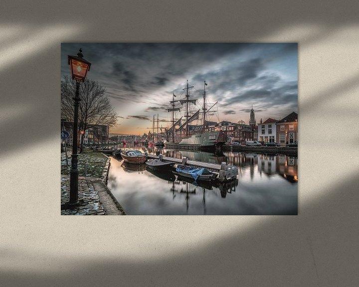 Sfeerimpressie: Oud Haarlem van Photo Wall Decoration