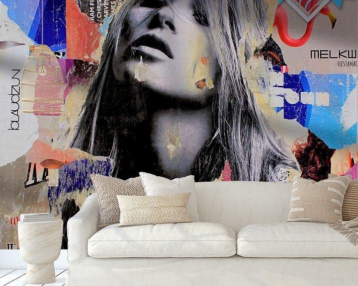 Sfeerimpressie behang: It's a sin to be tired van Michiel Folkers