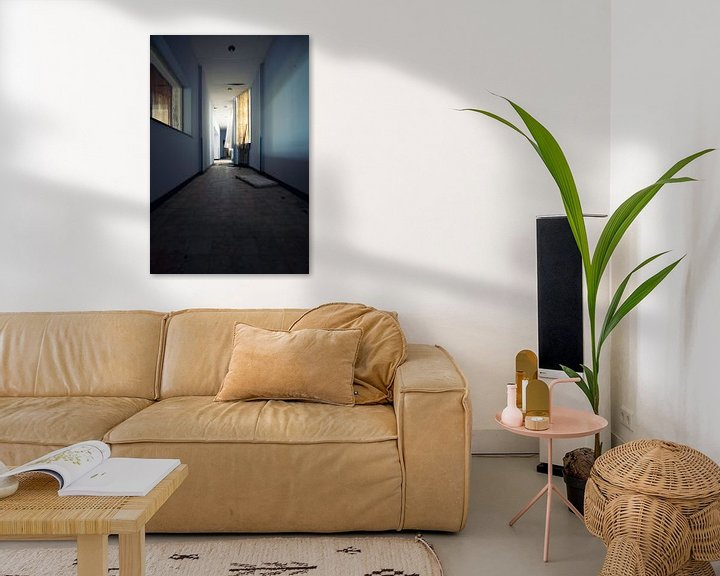 Beispiel: Abandoned hallway von Maik Keizer