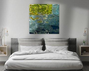 Waterkleur van Martijn van Huffelen