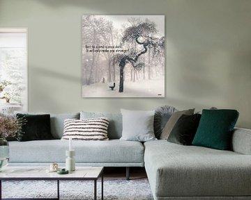 """Inspiration """"Standing alone"""" van henrie Geertsma"""