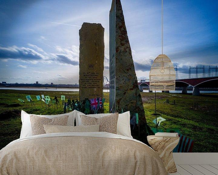 Sfeerimpressie behang: De Oversteek van Maerten Prins