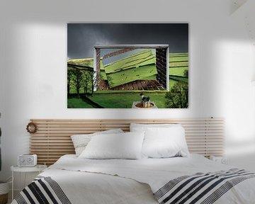 surrealistisch landschap von Henk Speksnijder