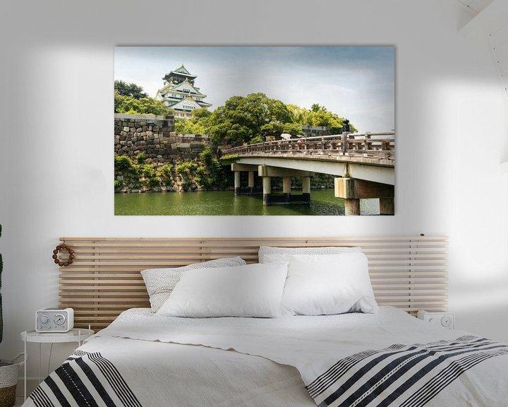 Sfeerimpressie: Osaka Castle in Japan van Claudio Duarte