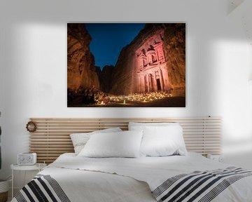 Petra by night sur Claudio Duarte