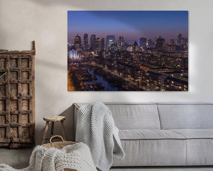 Sfeerimpressie: Het stadscentrum van Rotterdam van MS Fotografie | Marc van der Stelt