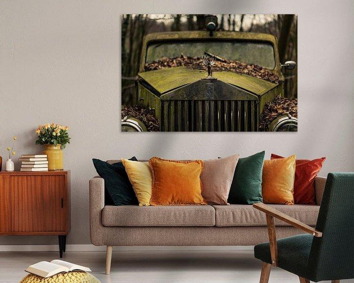 Sfeerimpressie: Rolls Royce van Dennis van Dijk