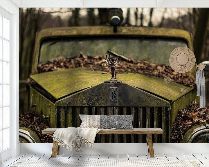 Sfeerimpressie behang: Rolls Royce van Dennis van Dijk