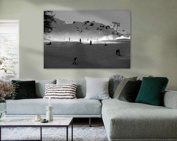 Wintersport von P.D. de Jong