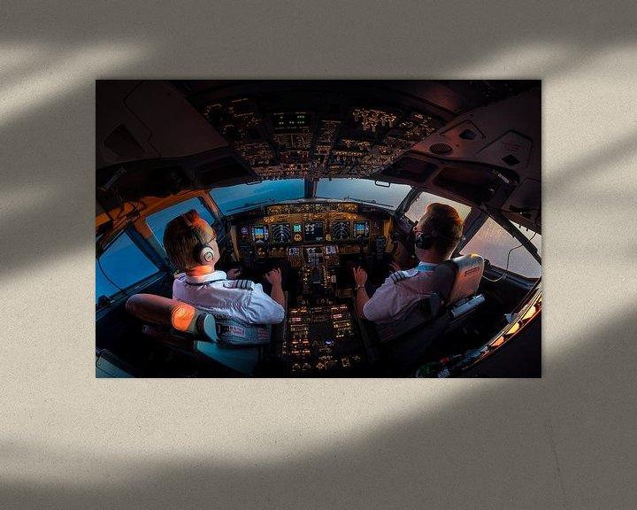 Sfeerimpressie: Cockpit sunset van Martijn Kort