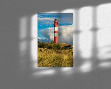 Lighthouse on the island Amrum van Rico Ködder
