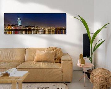 Deventer Skyline van Edwin Mooijaart