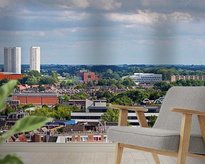 Sfeerimpressie behang: Panorama Groningen zuid van Anton de Zeeuw
