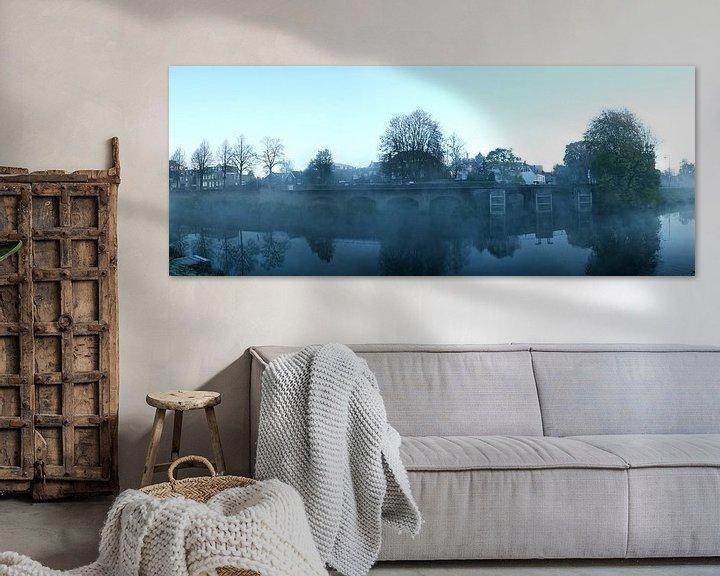 Sfeerimpressie: De Zuidwal in ochtendnevel van Jasper van de Gein Photography